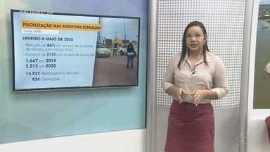 BPRE faz balanço de atuações e ocorrências nas rodovias estaduais do Amapá - Batalhão divulgou ocorrências de janeiro a maio, na comparação de 2019 e 2020.