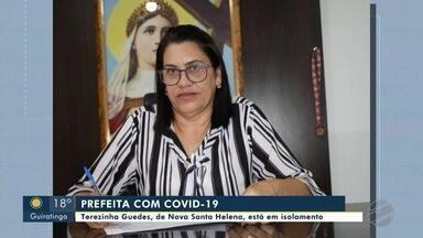 Prefeita de Nova Santa Helena testa positivo pra Covid-19 - Prefeita de Nova Santa Helena testa positivo pra Covid-19