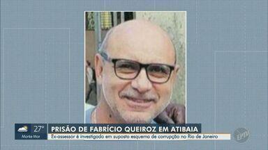 Fabrício Queiroz, ex-assessor de Flávio Bolsonaro, é preso em Atibaia, SP - Ele é investigado por participação em suposto esquema de 'rachadinha' na Alerj à época em que Flávio era deputado estadual.