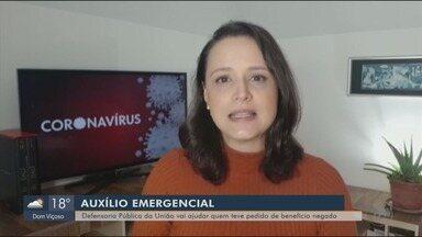 Defensoria Pública da União pode apresentar recurso para quem teve auxílio negada - Viviane Abreu traz as informações de Brasília