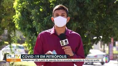 Prefeitura de Petrópolis, RJ, volta atrás e não fará testes de Covid-19 em UBS's - Município chegou a anunciar esta semana que os testes seriam aplicados a partir da próxima segunda-feira.