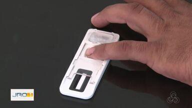 """PRF usa """"drogômetro"""" pra identificar consumo de drogas por motoristas em RO - A Polícia Rodoviária Federal começou a utilizar em Ji-Paraná um equipamento capaz de diagnosticar o uso de até 15 tipos de droga."""