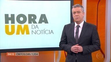 Brasil registra 1.204 mortes pela Covid-19 em 24 horas - Segundo o consórcio de veículos de imprensa, nas últimas vinte e quatro horas, foram registrados 1.204 óbitos. O número de infectados, desde o início da pandemia, atingiu a marca de 983.