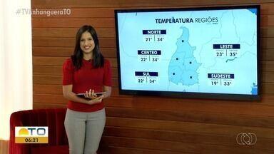 Calor e baixa umidade são características dessa época do ano no Tocantins - Calor e baixa umidade são características dessa época do ano no Tocantins