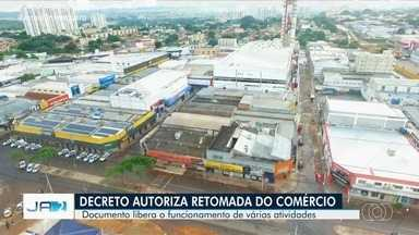Novo decreto da Prefeitura de Goiânia libera atividades e altera horário de escalonamento - Alguns estabelecimentos deverão voltar a funcionar a partir de segunda-feira.