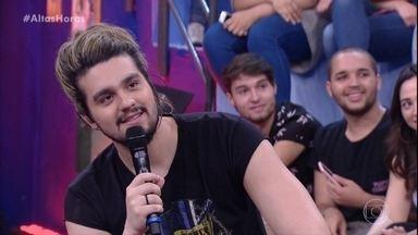 Convidados do Altas Horas respondem perguntas da plateia - Luan Santana, Pabllo Vittar e Il Volo são os convidados do Altas Horas
