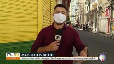 Campos dos Goytacazes, RJ, libera a volta de novas atividades - Cidade tem 95 mortes e 1.536 casos do novo coronavírus.