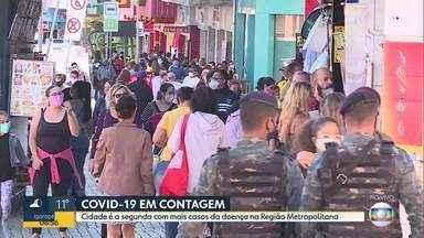 Contagem é a segunda cidade da Região Metropolitana com mais casos de Covid-19 - Com 787 casos confirmados e 32 mortes, fica atrás apenas de Belo Horizonte.