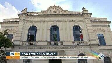 Delegacia Seccional de Campinas passa a receber denúncias pelo Whatsapp - A Polícia Civil está com um número para receber mensagens de denúncias de todos os tipos de crimes, incluindo homicídios, furtos, roubos e violência contra a mulher.