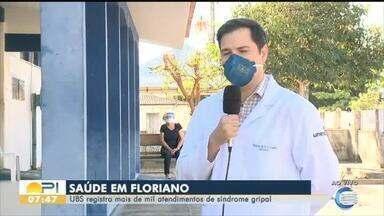 Em Floriano já são mais de mil atendimentos por síndromes respiratórias - Em Floriano já são mais de mil atendimentos por síndromes respiratórias