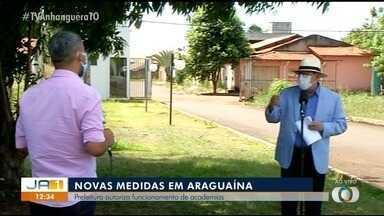 Novo decreto proíbe consumo de bebidas alcoólicas e libera academias em Araguaína - Novo decreto proíbe consumo de bebidas alcoólicas e libera academias em Araguaína