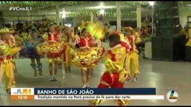 Mercado do Ver-o-Peso aquece com venda de ervas para banhos de São João - Mercado do Ver-o-Peso aquece com venda de ervas para banhos de São João