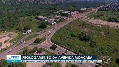 Projeto da obra da avenida Moaçara é apresentado pela Prefeitura - Governador do estado assinou ordem de serviço para a obra.