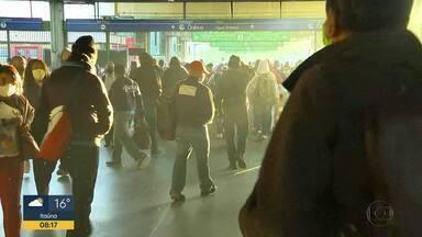 Metroviários anunciam greve - Trens estão com escala mínima de funcionamento.