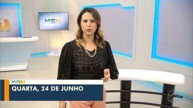 MSTV 1ª Edição Campo Grande de quarta-feira, 24 de junho de 2020 - MSTV 1ª Edição Campo Grande de quarta-feira, 24 de junho de 2020