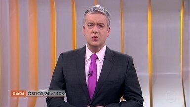 Brasil registra 53.874 mil mortes pela Covid-19, segundo consórcio de veículos de imprensa - O número de infectados chegou a mais de um milhão.