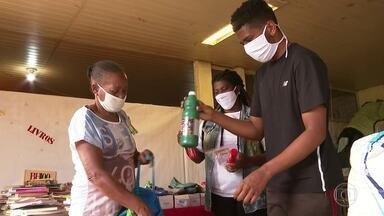 Quatro meses depois do começo da pandemia, projetos sociais sentem baixa nas doações - Segundo uma pesquisa esse é um comportamento comum em momentos de crise humanitária.