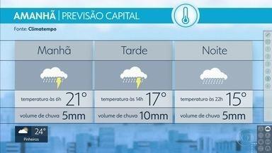 Frente fria vai mudar o tempo na Grande São Paulo - Próximos dias terão chuva e frio. Confira todos os detalhes da previsão do tempo.