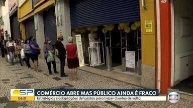Bom Dia São Paulo - Edição de sexta-feira, 26/06/2020 - Prefeitura de SP diz que bares e restaurantes só poderão abrir depois que protocolo sanitário for assinado. Taxistas de SP fazem testes para Covid-19.