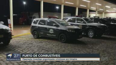 Operação investiga organização criminosa em Limeira - Polícia prendeu suspeitos e apreendeu peças usadas nos crimes pela quadrilha na região.