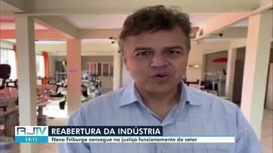Nova Friburgo consegue na justiça autorização para reabrir indústrias - Prefeito Renato Bravo afirma que outros setores também voltarão a funcionar gradativamente na cidade.