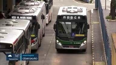 Reabertura da economia vai impactar no transporte público - Ônibus da capital operam com 84% da capacidade de antes da pandemia.