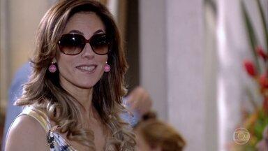 Na saída do Brasileiríssimo, Tereza Cristina provoca Griselda - Griselda não deixa barato e responde à altura