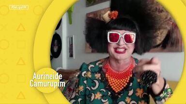 Convite para a live Humor na Laje: São João do Riso - Aurineide Camurupim, Titela e Virgínia Del Fuego falam da live que acontece neste sábado (27)