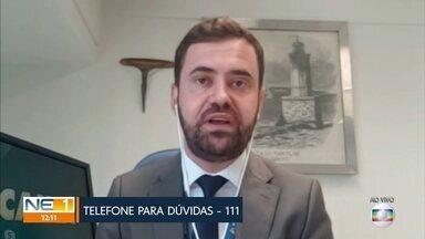 Superintendente da Caixa tira dúvidas sobre auxílio emergencial e saques do FGTS - João Carlos Dácia explica como ficou calendário de saques.