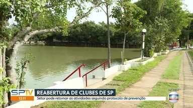 Clubes de São Paulo já podem retomar atividades seguindo protocolos de prevenção - Parques ainda não reabriram, mas discutem como será a retomada nas próximas semanas.