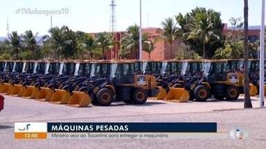 Ministro do Desenvolvimento Regional Rogério Marinho vem ao TO entregar máquinas pesadas - Ministro do Desenvolvimento Regional Rogério Marinho vem ao TO entregar máquinas pesadas