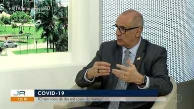 Secretário Estadual de Saúde fala sobre o aumento dos casos de Covid-19 no Tocantins - Secretário Estadual de Saúde fala sobre o aumento dos casos de Covid-19 no Tocantins