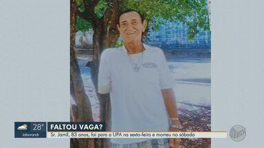 Família denuncia falta de leito de UTI para idoso que morreu em Ribeirão Preto - Aposentado de 83 anos foi diagnosticado com coronavírus.