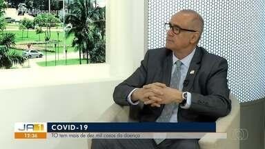 Secretário de Saúde do Tocantins alerta população sobre o combate ao coronavírus - Secretário de Saúde do Tocantins alerta população sobre o combate ao coronavírus