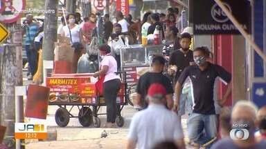 Lojistas da Região da 44 se preparam para reabrir comércio - Comerciantes estão na expectativa de reabrir nesta terça-feira (30), mas temem novo decreto que mantém fechamento.