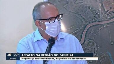 Moradores do paineiras, em Rondonópolis, pedem socorro - Moradores do paineiras, em Rondonópolis, pedem socorro; prefeitura começou trabalho no bairro