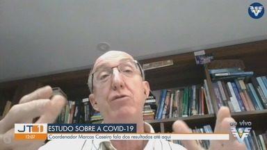 Coordenador de estudo da evolução da Covid-19 na Baixada Santista fala sobre pesquisa - Médico infectologista Marcos Caseiro coordena estudo e fala sobre resultados até o momento.