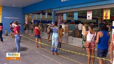 Retomada do comércio começou esta segunda em Sergipe - Retomada do comércio começou esta segunda em Sergipe.