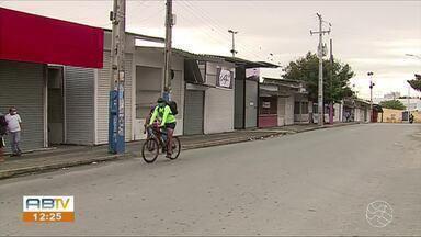 Veja como foi a fiscalização no Parque 18 de Maio com o isolamento mais rígido em Caruaru - Reportagem foi conferir no local.