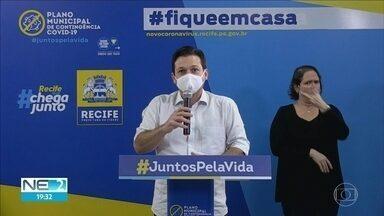 Prefeito do Recife faz balanço de atendimentos de pacientes com Covid-19 - Segundo Geraldo Julio, 17 mil pessoas se recuperaram da doença