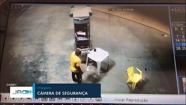 Homem atropela frentista de propósito em Rio Branco - Homem atropela frentista de propósito em Rio Branco