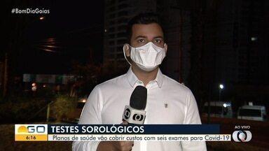Planos de saúde devem cobrir testes que identificam coronavírus em Goiás - Deve haver cobertura para seis tipos de exames sorológicos.