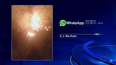 Confira as reclamações que os moradores mandam para o WhatsApp da TV TEM - Confira as reclamações que os moradores mandam para o WhatsApp da TV TEM.