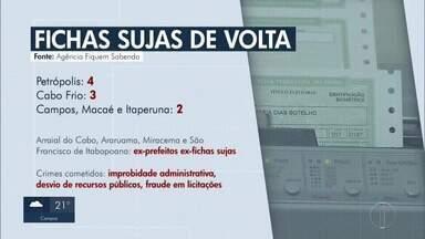Rio é o estado que mais têm ex-fichas sujas aptos a se elegerem - Só na área de cobertura do interior 19 políticos estão incluídos.