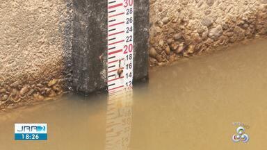 Nível do Rio Branco em Roraima não para de subir - Em algumas regiões do estado, o rio chegou a cobrir pontes.