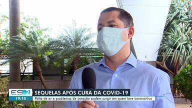 Falta de ar e problemas de coração podem surgir em quem teve coronavírus - Veja na reportagem.