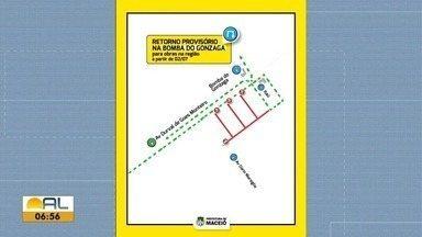 Trânsito na região da Bomba do Gonzaga sofre alterações - Veja na reportagem de Carolina Sanches.