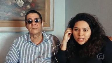 Filha de Zeca Pagodinho diz que pai não desgruda do neto Noah - Elisa conta que o pai faz 'chantagem' para que ela permaneça em sua casa na quarentena por causa do menino