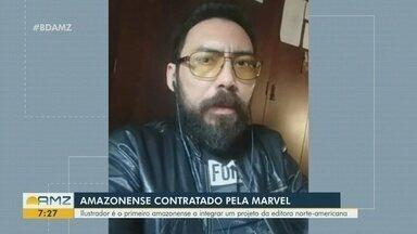 Cartunista amazonense é novo contratado pela Marvel - Ilustrador é o primeiro amazonense a integrar um projeto da editora norte-americana.