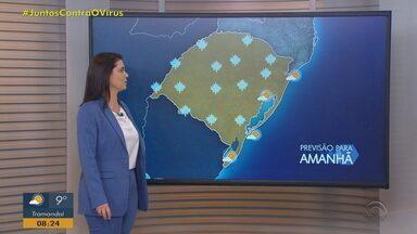 Sexta-feira (3) tem alerta de geada na maior parte do RS; frio aumenta - Tempo segue firme.